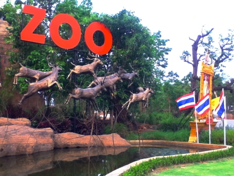Sadly, the entrance is the best part of the zoo